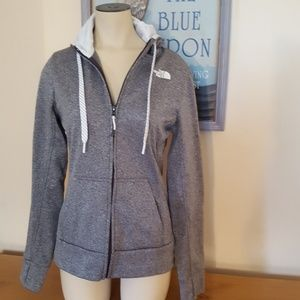 North Face hoodie women's size SP